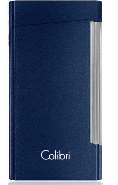 Турбо-зажигалка Colibri Voyager синяя