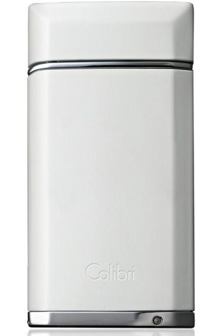 Зажигалка турбо Colibri Evoke с пробойником 8 мм белая