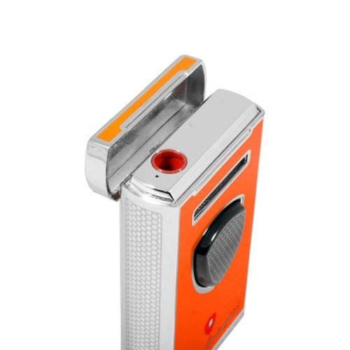 Турбо-зажигалка Lamborghini Pergusa Lighter оранжевого цвета