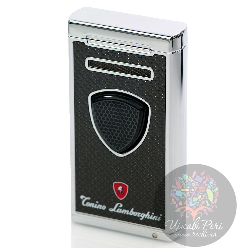 Турбо-зажигалка Lamborghini Pergusa Carbon Fiber