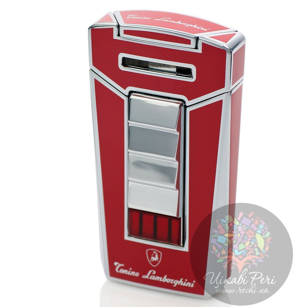 Турбо-зажигалка Lamborghini Aero Torch Flame Lighter красная