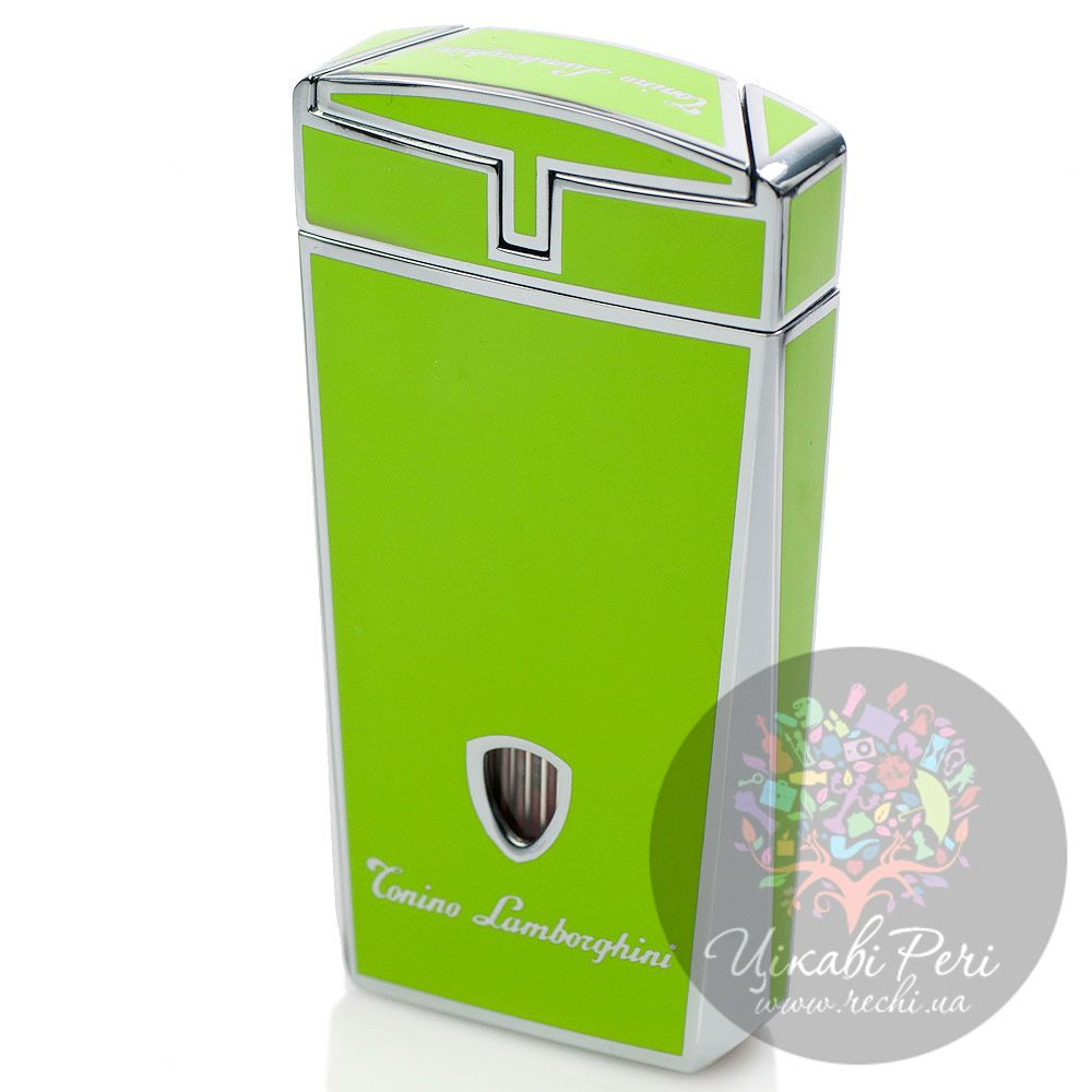 Турбо-зажигалка Lamborghini Aero Torch Flame Lighter зеленая