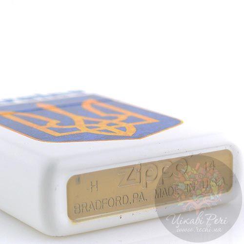 Зажигалка Zippo с гербом Украины, фото