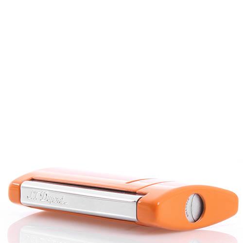 Зажигалка S.T.Dupont MINIJET оранжевая, фото