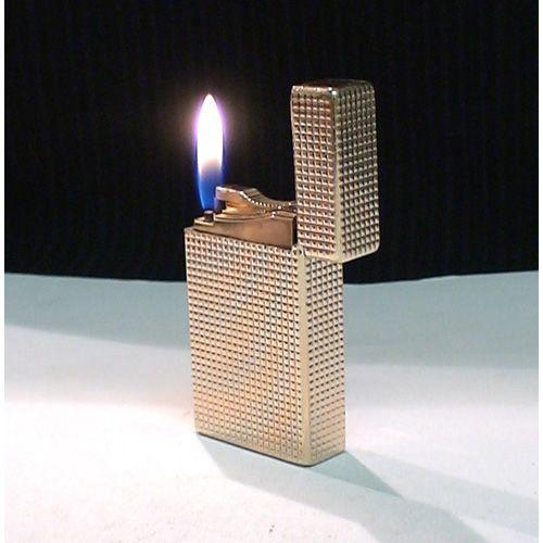 Зажигалка S.T.Dupont LIGNE 1 с желтым золотом , фото
