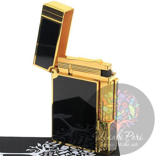 Зажигалка с черным лаком Gatsby, фото