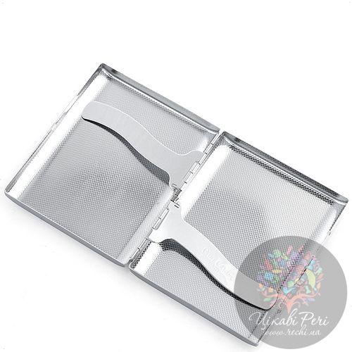Портсигар Pierre Cardin из стали и кожи, фото