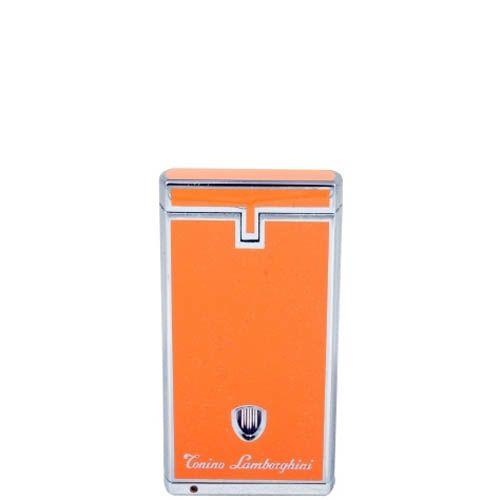 Турбо-зажигалка Lamborghini Pergusa Lighter оранжевого цвета, фото