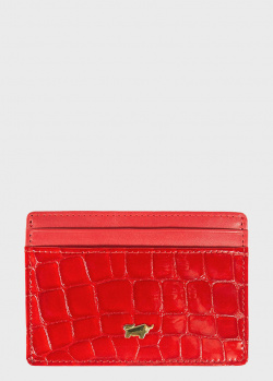 Кардхолдер Braun Bueffel Verona красного цвета, фото