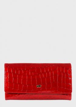 Красный кошелек Braun Bueffel Verona из тисненной кожи, фото