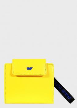 Портмоне Braun Bueffel Capri желтого цвета, фото