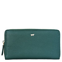 Женское портмоне Braun Bueffel Asti зеленое, фото