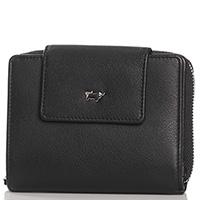 Черный кошелек Braun Bueffel Miami из зернистой кожи, фото