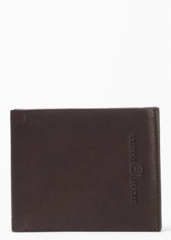 Мужское портмоне Luciano Barbera коричневого цвета, фото