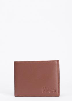 Коричневое портмоне Montana из зернистой кожи, фото
