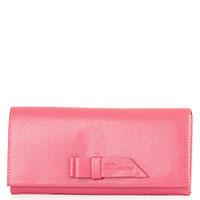 Розовый кошелек Blumarine Colette с бантом, фото
