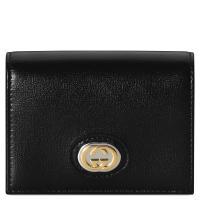 Черное портмоне Gucci с логотипом, фото