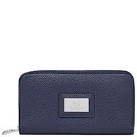 Синий кошелек Billionaire с квадратным значком, фото