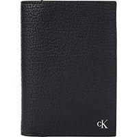Вертикальное портмоне Calvin Klein черного цвета, фото
