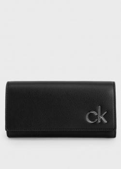 Черный кошелек Calvin Klein из искусственной кожи, фото