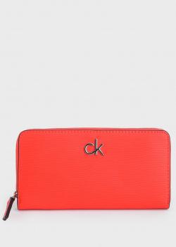 Кошелек Calvin Klein с логотипом, фото