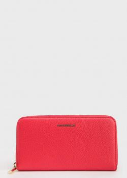 Красный кошелек Coccinelle из зернистой кожи, фото