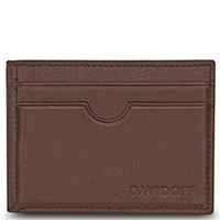 Кардхолдер Davidoff Essentials коричневого цвета, фото