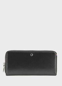 Черный кошелек S.T.Dupont из кожи, фото