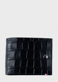 Портмоне S.T.Dupont Croco Dandy черного цвета, фото