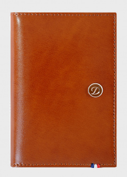 Визитница S.T.Dupont Line D коричневого цвета, фото