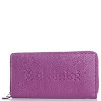 Пурпурный кошелек Baldinini Connie из зернистой кожи, фото