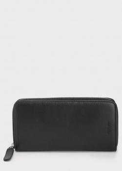 Кошелек Giorgio Armani черного цвета, фото