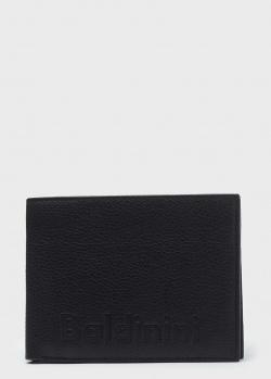 Мужское портмоне Baldinini LCharles из черной кожи, фото