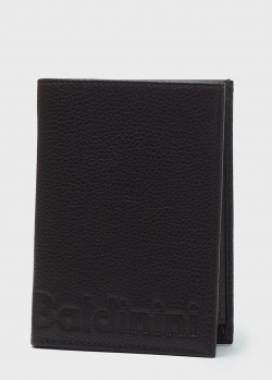 Вертикальное портмоне Baldinini LCharles из черной кожи, фото