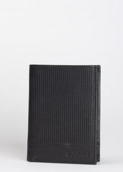 Вертикальное портмоне Baldinini LLuke из фактурной кожи, фото
