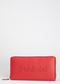 Красный кошелек Baldinini LConnie ZAR из мелкозернистой кожи, фото