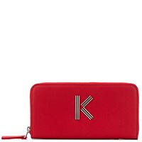Кошелек на молнии Kenzo K-Bag красного цвета, фото