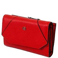 Красный портмоне Piquadro Muse с отделением для 18 кредитных карт, фото