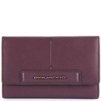 Портмоне Piquadro Splash фиолетового цвета с RFID защитой , фото