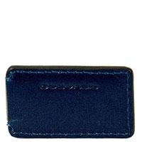 Зажим для банкнот Piquadro Bold синего цвета, фото