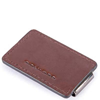Зажим для банкнот Piquadro Bold коричневого цвета , фото