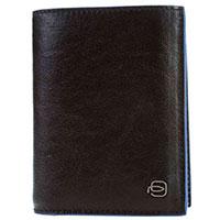 Портмоне Piquadro B2S черного цвета и RFID защитой , фото