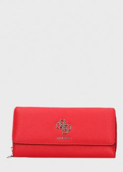 Красный кошелек Guess Digital из экокожи, фото