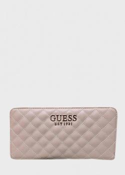 Стеганый кошелек Guess Brielle из экокожи, фото