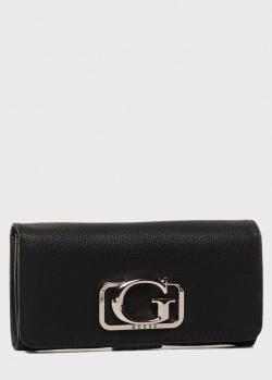 Черный кошелек Guess Annarita из экокожи, фото