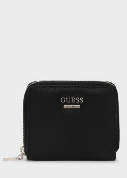 Черный кошелек Guess Michy из экокожи, фото