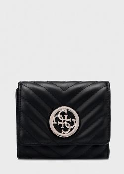 Стеганый кошелек Guess Blakely черного цвета, фото