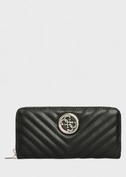Стеганый кошелек Guess Blakely с логотипом, фото