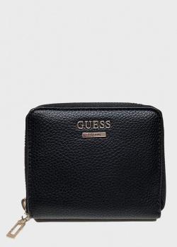 Черный кошелек Guess Lias из экокожи, фото