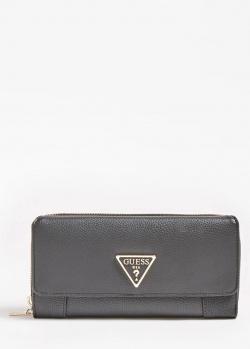Женский кошелек Guess Alby черного цвета, фото
